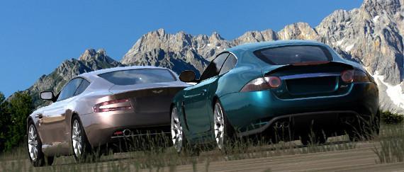 Jaguar Xkr Vs Aston Martin Db9