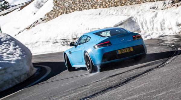 Jaguar F Type R Coupe Vs Aston Martin V12 Vantage S 2014