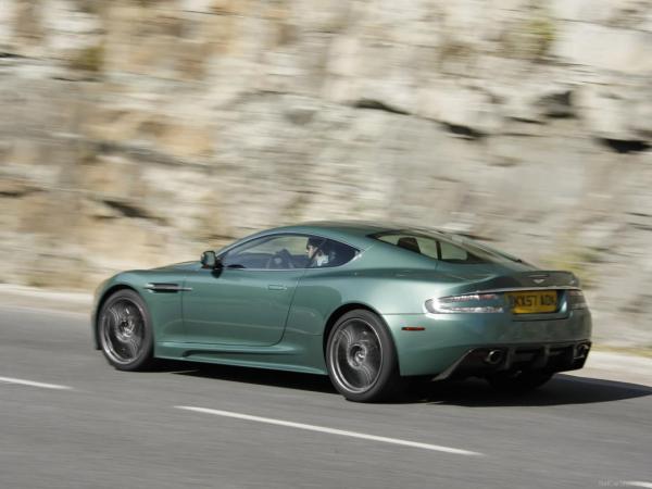 Aston Martin Dbs 2008 Detail