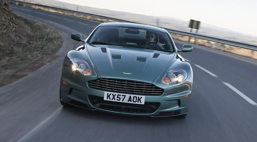 Aston Martin DBS Touchtronic Review - Aston martin db9 manual transmission