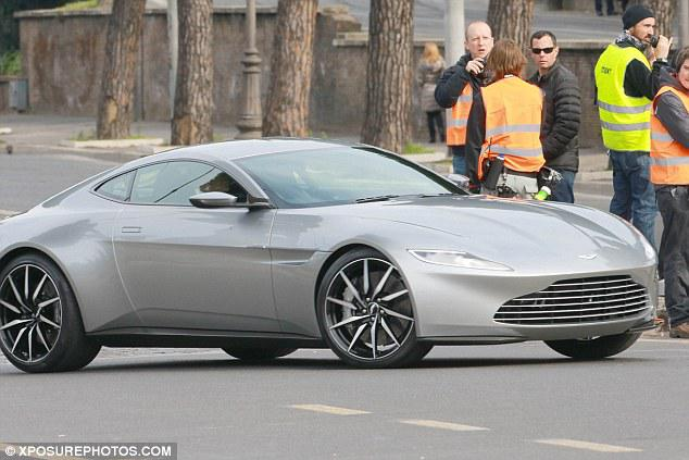 Stuntmen Took The 007u0027s Aston Martin DB10 And The Villainu0027s Jaguar CX75  Down The Riveru0027s Narrow Footpaths At Breakneck Speed.