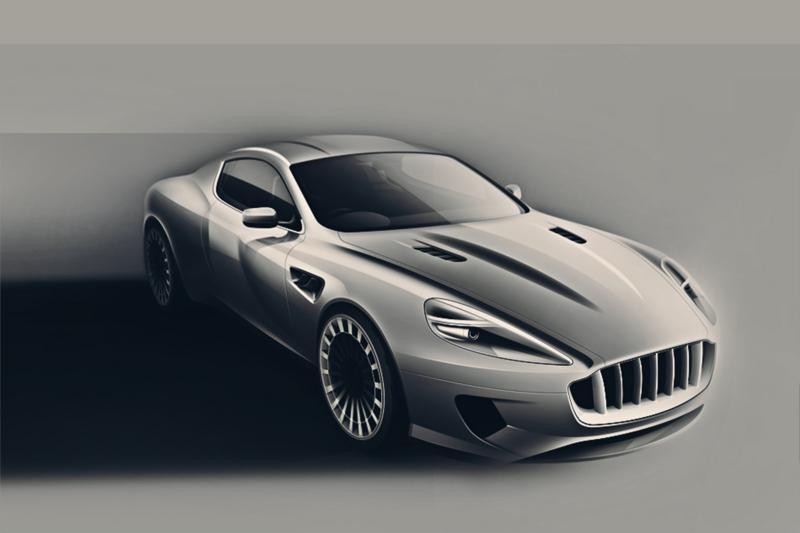 Kahn Vengeance Aston Martin DB - Aston martin two door