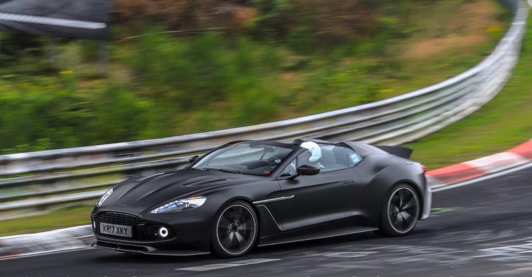 Aston Martin Vanquish Zagato Speedster 2018
