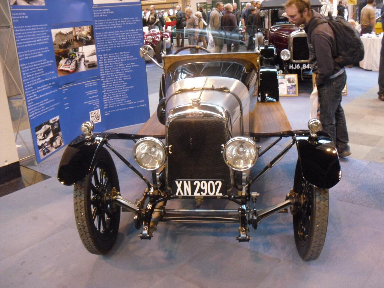 1923 Aston Martin Side Valve Boat Tail 3 Seater 1923 Aston Martin