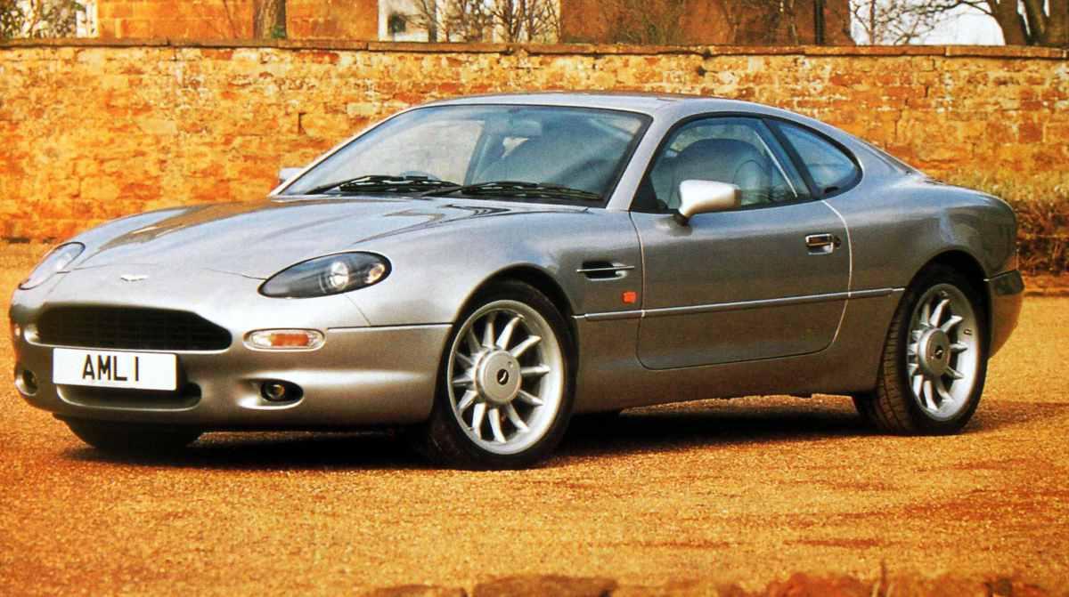 1994 Aston Martin Db7 Coupe 1994 Aston Martin Db7 4