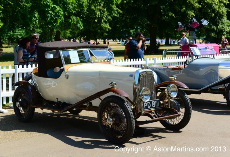 1924 Aston Martin Side Valve Boat Tail 3 Seater Image 3