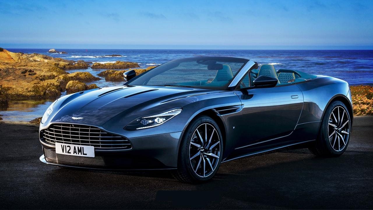 aston martin db11 volante. Black Bedroom Furniture Sets. Home Design Ideas