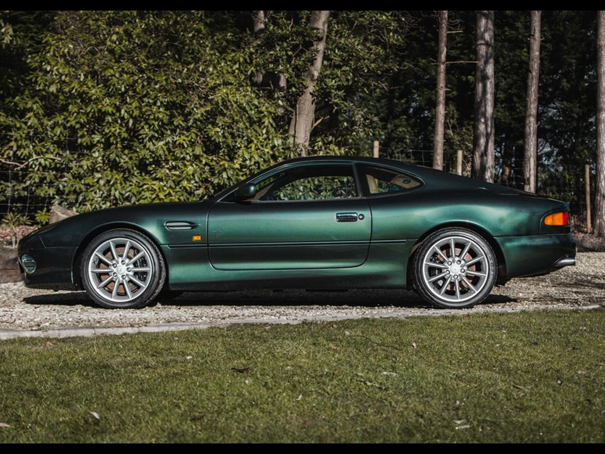 Test Aston Martin Db7 Vantage From 1999