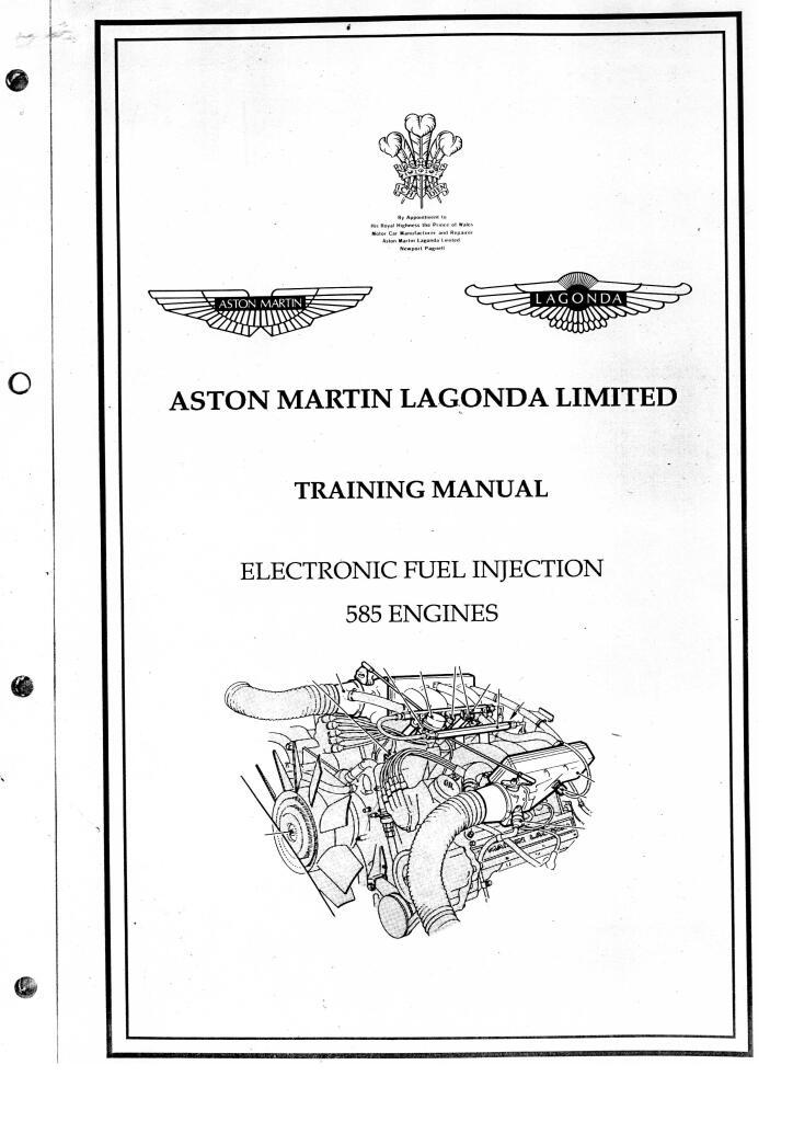 Lagonda Workshop Manuals Training Manual 585 Engines Pdf
